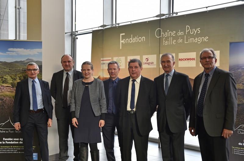 30/03/16 - Réception des membres de la fondation Chaîne des Puys par le Conseil Départemental du Puy-de-Dôme - Photo : Jerome CHABANNE