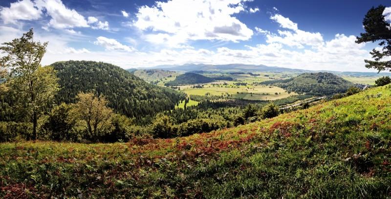 Depuis le sommet de Vichatel ©A.Sauvanot