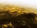 Vue aérienne du nord de la Chaîne